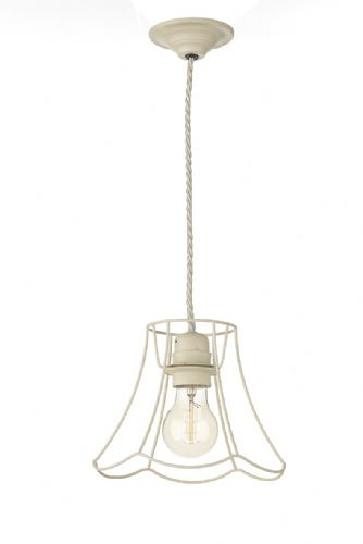 Oregon 1 Light Pendant Small Tealight Cream ORE0133 (7-10 day Delivery) (Class 2 Double Insulated)